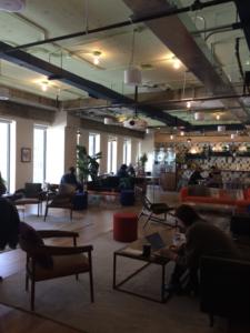 Coworking Wework de Montréal