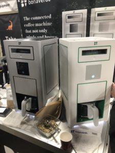 Au CES, il ya a même des machines à café !