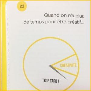 Des états des lieux présentés dans le livre de Marc Raison Startégie et Créativité, exemple de #18 Tout ouïe !