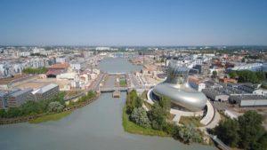 Création du Campus des Bassins à Flots à Bordeaux pour les filières numériques